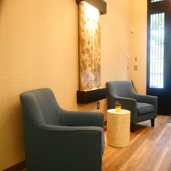 downtown marietta attento counseling office interior